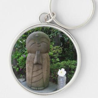 Keyring-Inori Silver-Colored Round Keychain