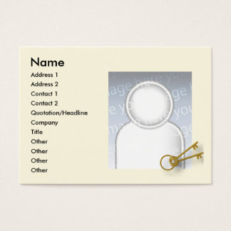 Keys - Chubby Business Card