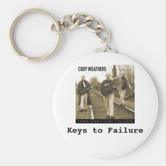 Keys to Failure Basic Round Button Keychain