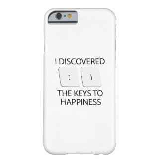 Keys To Happiness Barely There iPhone 6 Case