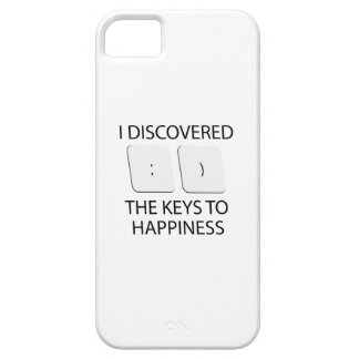 Keys To Happiness iPhone 5 Case