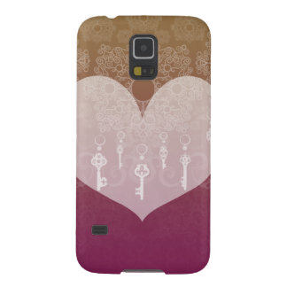 Keys to Love II Cases For Galaxy S5