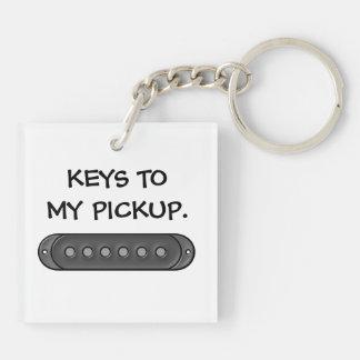 Keys to my Pickup Keychain