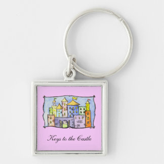 Keys to the Castle Keychain