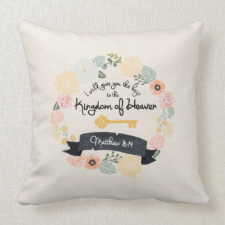 Keys to the Kingdom of Heaven pillow