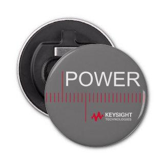 Keysight Power 2 Bottle Opener Button Bottle Opener
