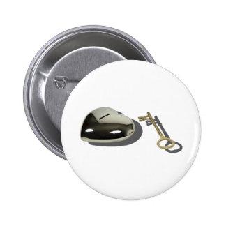 KeySilverHeart112010 Pins