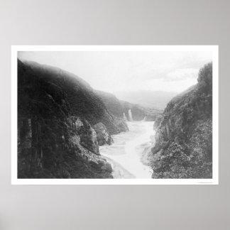 Keystone Canyon Valdez, Alaska 1914 Poster