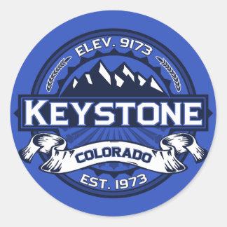 Keystone Color Logo Sticker