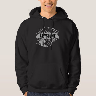 Keystone Colorado elevation ski hoodie