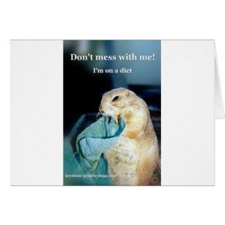 Keystone Prairie Dog diet meme Card