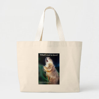 Keystone Prairie Dogs what's not to love? Large Tote Bag