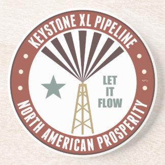 Keystone XL Pipeline Drink Coaster