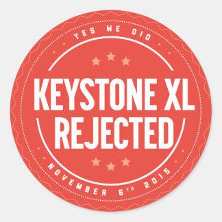 Keystone XL Rejection sticker