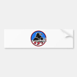 KF-16 157th Fighter Squadron Bumper Sticker