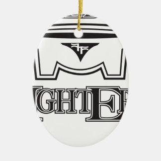 kff1.ai ceramic oval ornament