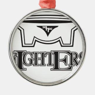 kff1.ai Silver-Colored round ornament