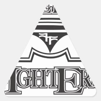 kff1 triangle sticker