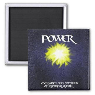 KFM Power Shuriken #1 Square Magnet