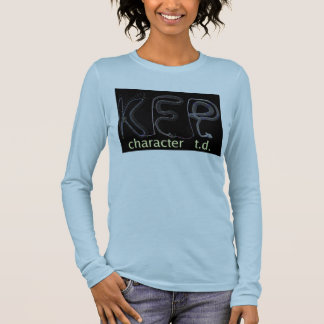 KFP character TD T-shirt (dark version)