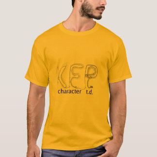 KFP character TD T-shirt (light color)