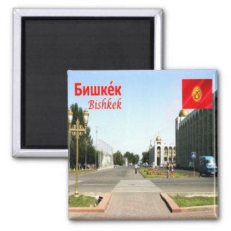 KG - Kyrgyzstan - Bishkek City Magnet