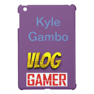 KG Vlog Gamer Glossy iPad Mini Case