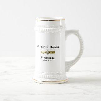KGM Groomsman Mugs