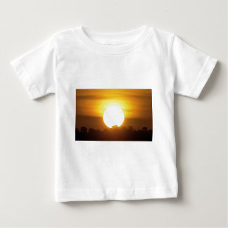 kground  add NAME  QUOTE PHOTO  sunset,background, Baby T-Shirt