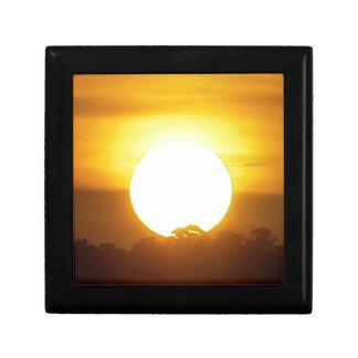 kground  add NAME  QUOTE PHOTO  sunset,background, Keepsake Box