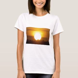 kground  add NAME  QUOTE PHOTO  sunset,background, T-Shirt