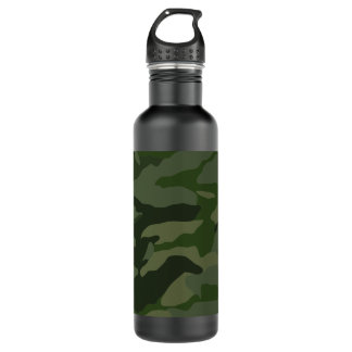 Khaki camouflage 710 ml water bottle