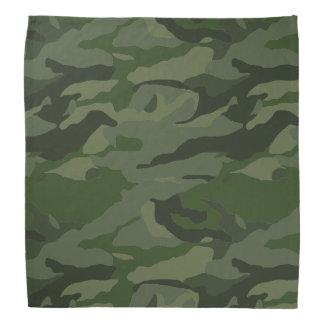 Khaki camouflage bandana