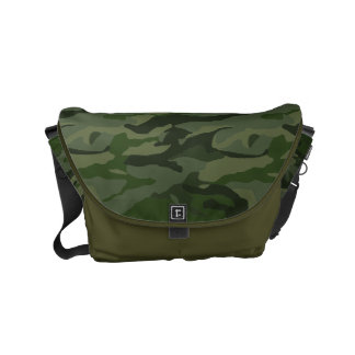 Khaki camouflage commuter bags