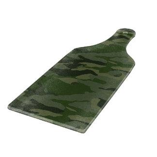 Khaki camouflage cutting board