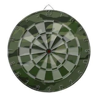 Khaki camouflage dartboard