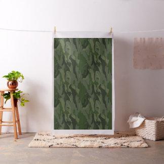 Khaki camouflage fabric