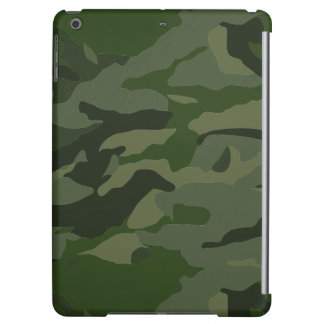 Khaki camouflage iPad air cover