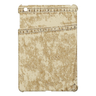 Khaki Denim Pocket Cover For The iPad Mini
