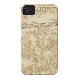 Khaki Denim Pocket iPhone 4 Case-Mate Cases