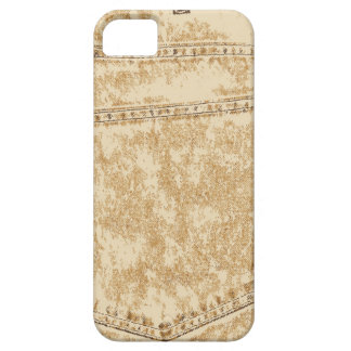 Khaki Denim Pocket iPhone 5 Covers