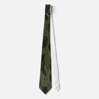 Khaki Green Camo Tie