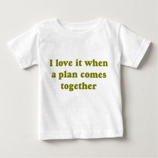 Khaki I Love It Baby T-Shirt