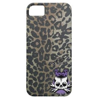 Khaki Leopard Dokuro-Chan iPhone 5 Cover