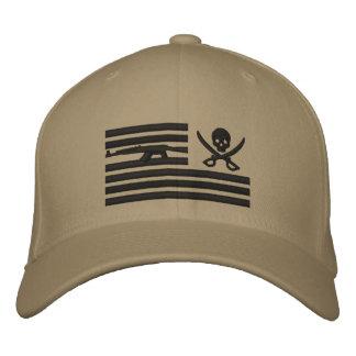 Khaki Liberty Pirate Operator Cap