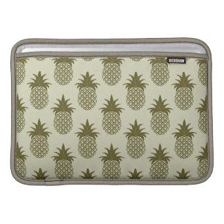 Khaki Pineapple Pattern MacBook Air Sleeve