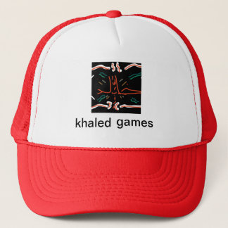 khaled games cap! (LOGO!) Trucker Hat