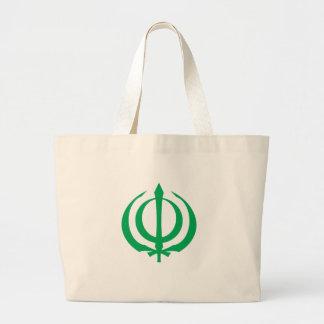 Khanda-G Large Tote Bag