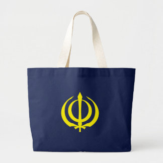 Khanda-Y Large Tote Bag