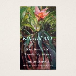 KHarvill ART - Fine Art America Business Cards